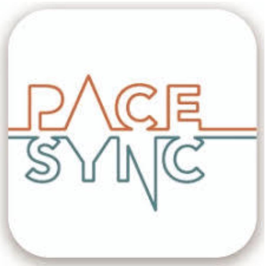 アプリ「Pace Sync」のキャッチ画像.alt